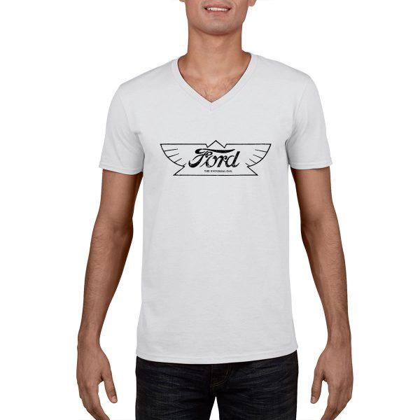 Ford Emblem - Vintage Ad - T-Shirt