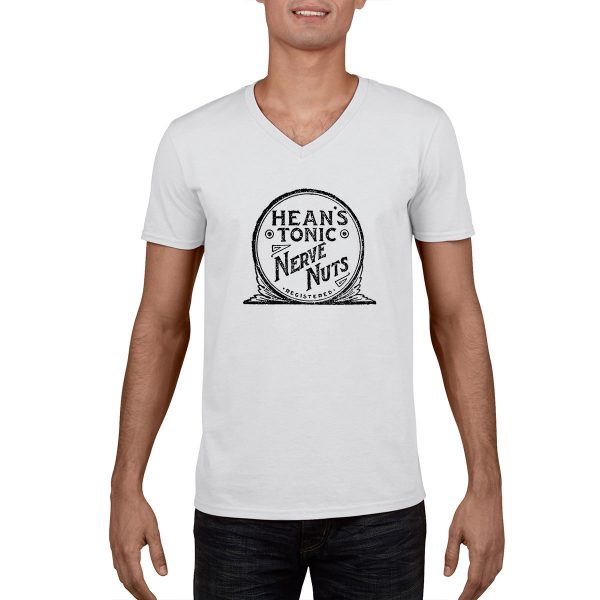 Hean's Tonic Nerve Nuts - Vintage Ad - T-Shirt
