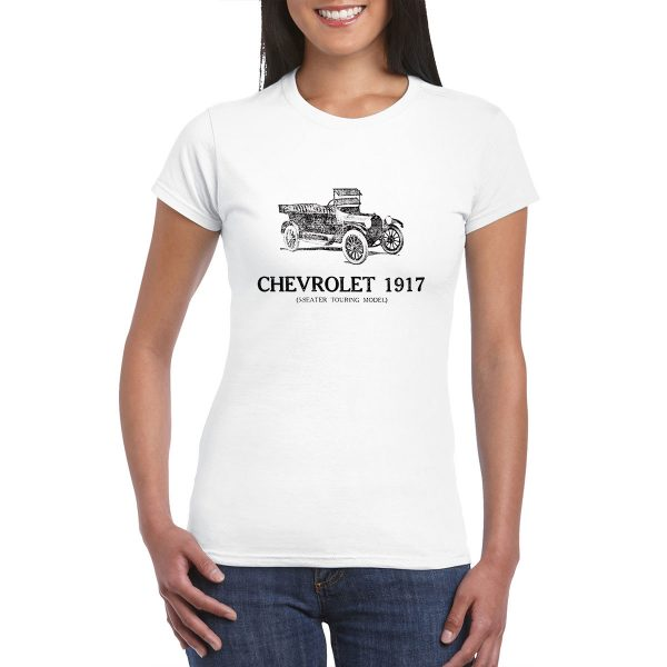 Chevrolet 5 seater touring model - Vintage Ad - T-Shirt