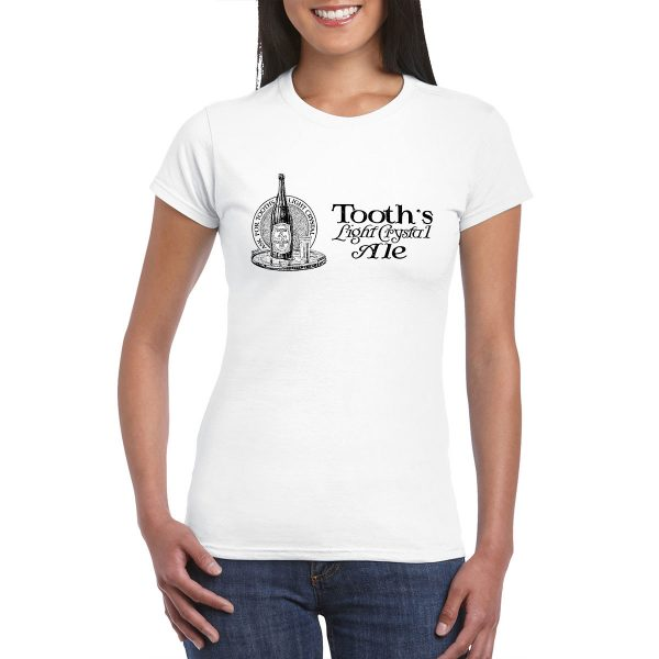 Tooth's Light Crystal Ale - Vintage Ad - T-Shirt
