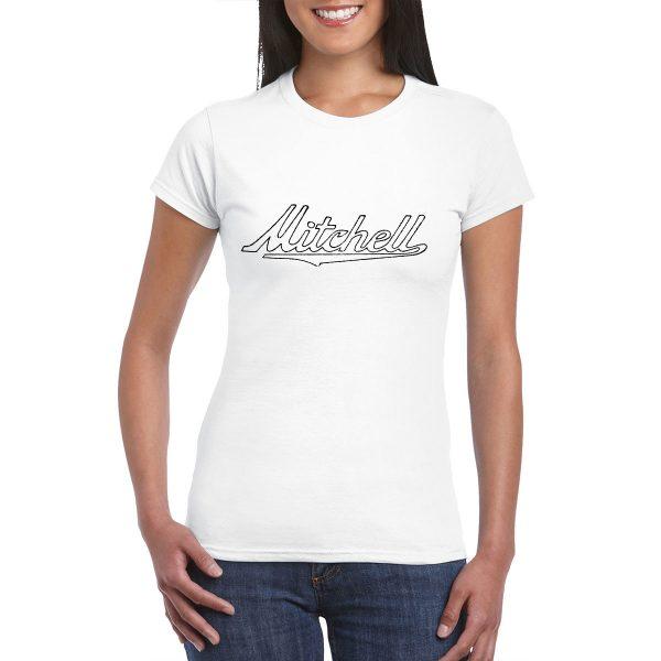 Mitchell Emblem - Vintage Ad - T-Shirt
