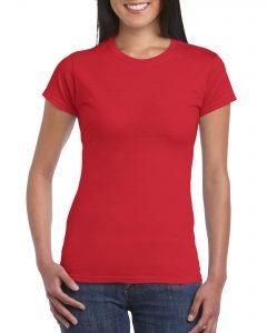 Women's Crew Neck - Red