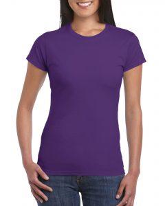 Women's Crew Neck - Purple