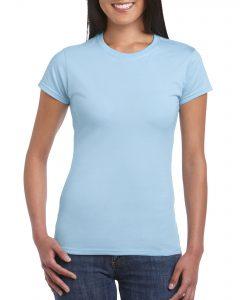 Women's Crew Neck - Light Blue