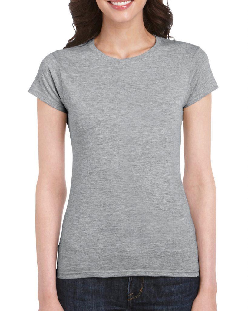 Women's Crew Neck - Sports Grey