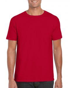 Men's/Unisex Crew Neck - Cherry Red