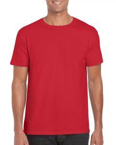 Men's/Unisex Crew Neck - Red