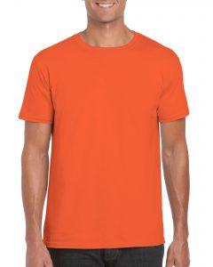 Men's/Unisex Crew Neck - Orange
