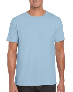 Men's/Unisex Crew Neck - Light Blue