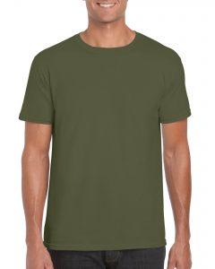 Men's/Unisex Crew Neck - Military Green