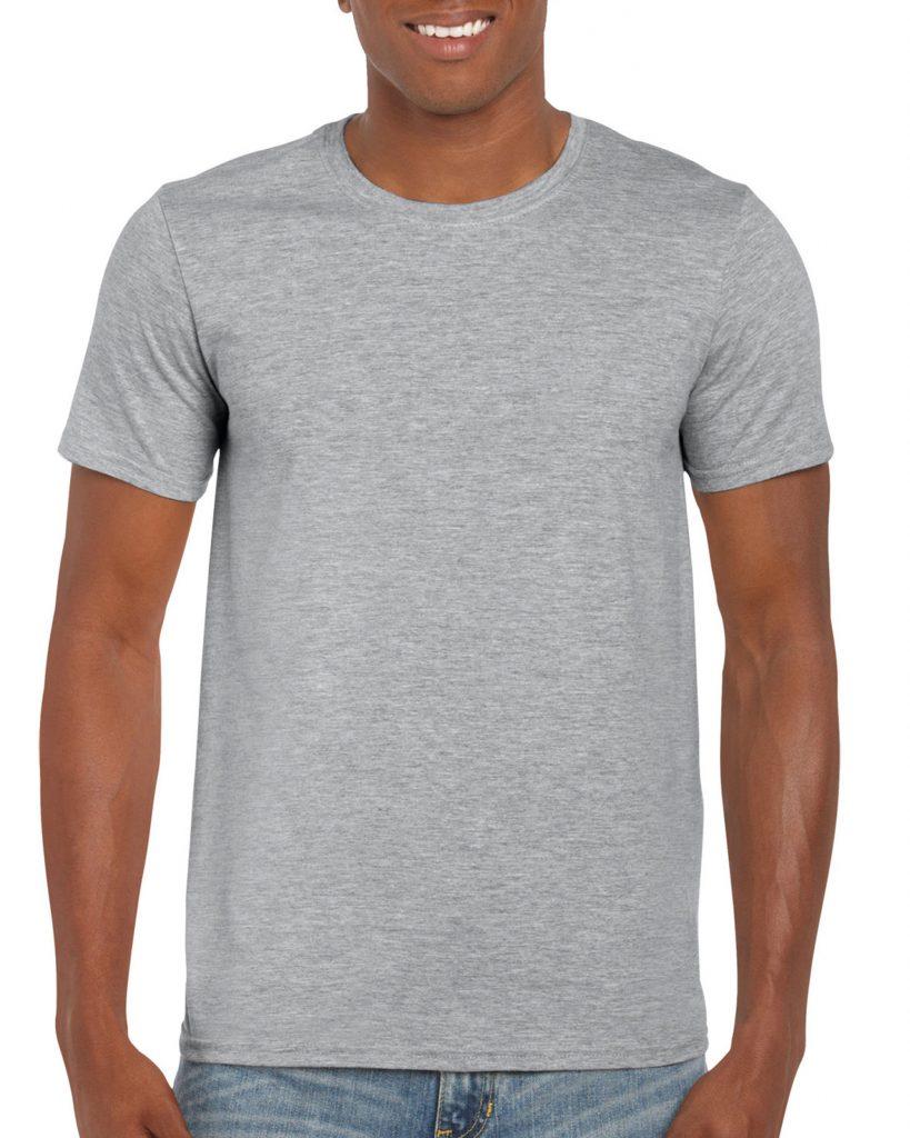 Men's/Unisex Crew Neck - Sports Grey
