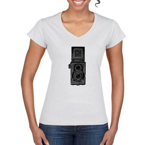 Vintage Reflekta II Camera T-Shirt