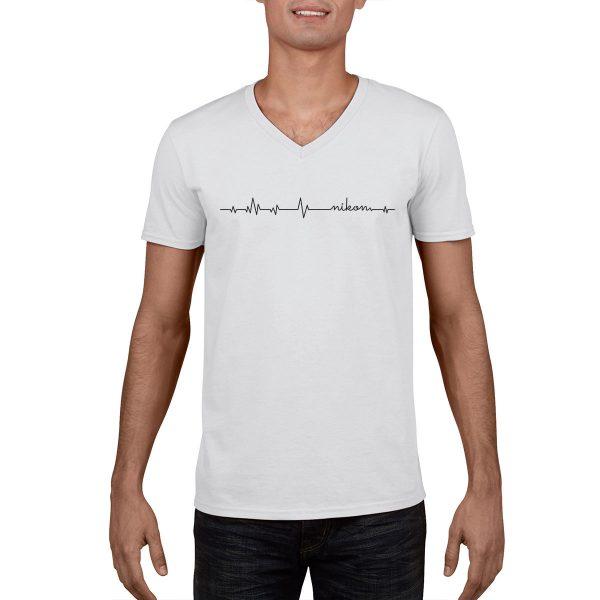 Heartbeat Nikon T-Shirt