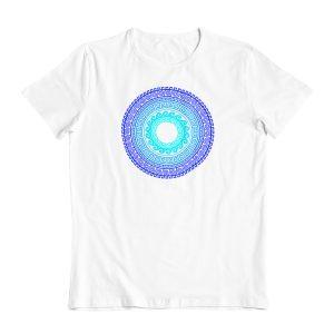Greek Ancient Mandala (Blue) T-Shirt