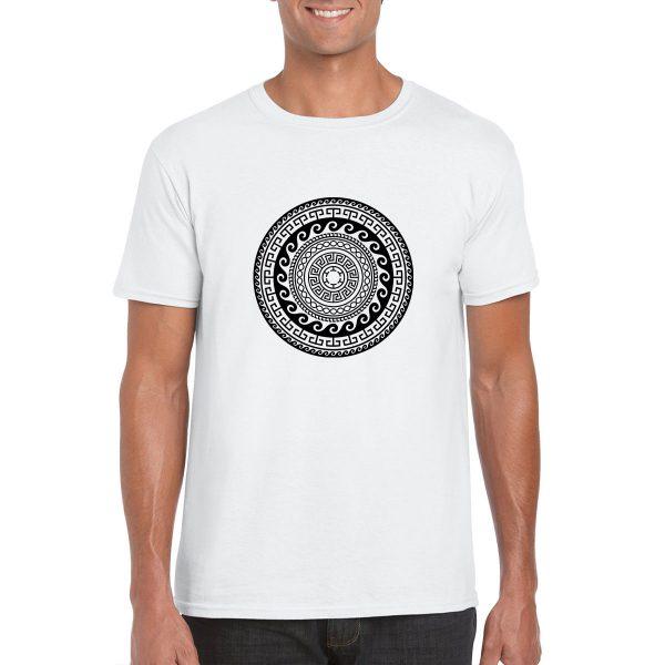 Greek Ancient Mandala T-shirt