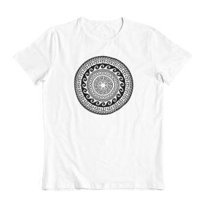 Greek Ancient Mandala (Black) T-Shirt