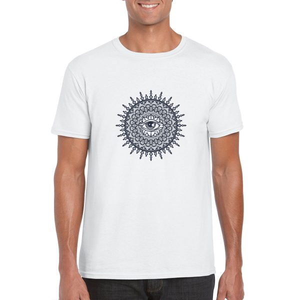 All Seeing Eye Mandala T-Shirt
