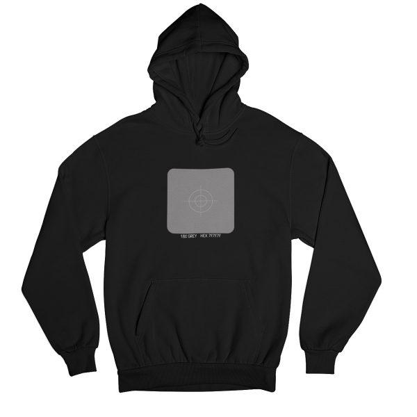 Gray Card Hoodie