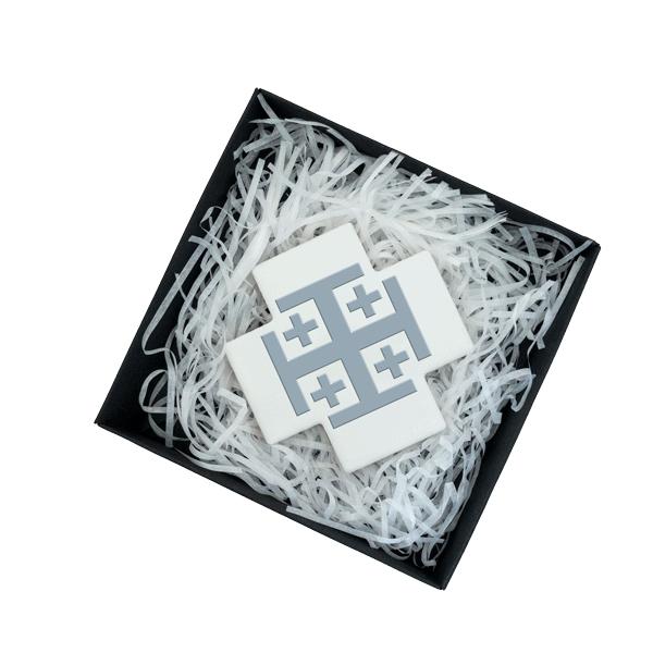 Jerusalem Cross Ceramic - Boxed