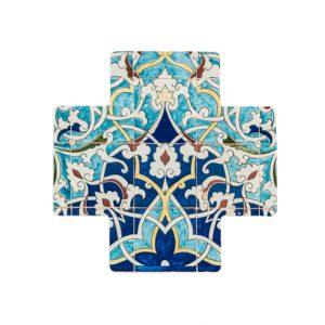 Turkish Mosaic Ceramic Cross
